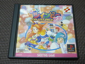 PS1-Detana-Twinbee-Yahho-DELUXE-PACK-Japan-PS-PlayStation-1-F-S