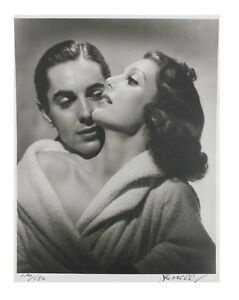 Loretta-Young-and-Tyrone-Power-by-George-Hurrell-Signed-Photo-Print-LE-of-190