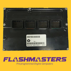 2004 Dodge Stratus 2.4L PCM ECU ECM Part# 4896115 REMAN Engine Computer