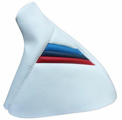For 92-99 BMW E36 Console Shift /& Ebrake Boot Bundle Vinyl M3 Style Stripes