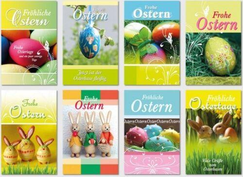50 Osterkarten Ostern Osterkarte Grußkarten Glückwunschkarten sk 3578