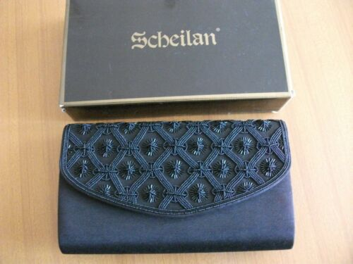 Scheilan Black Bag Beads Florence Clutch 7qzrP7