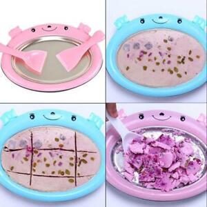Instant-Ice-Cream-Maker-Pan-Yogurt-Sorbet-Gelato-Ice-Roll-DIY-Maker-Pan-for-B9S9