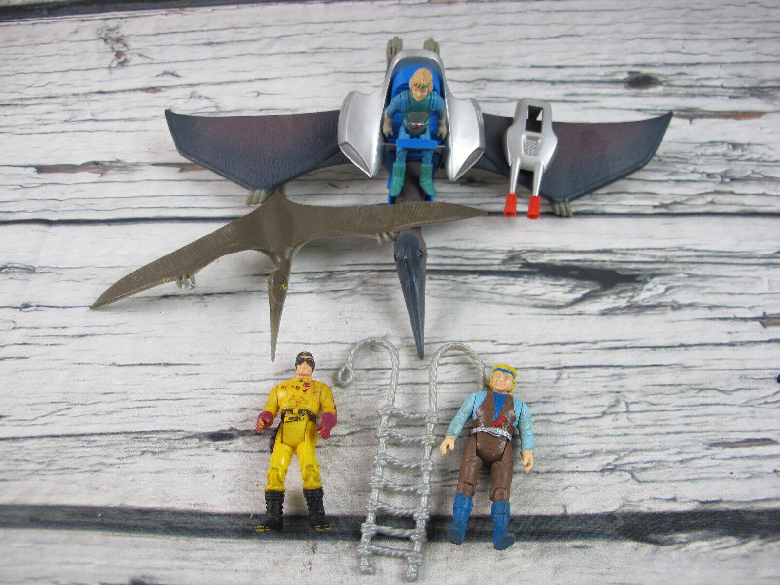 Dino - fahrer viel pterodactyl playset vintage tyco 5  action - figur 1987