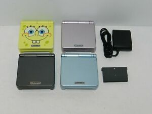 Nintendo Game Boy Advance SP System Console AGS-101 + Game - You Pick Color!