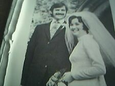 ephemera 1972 kent picture wedding r stroud miss jane walker herne bay