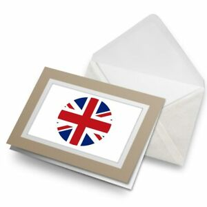 Greetings-Card-Biege-Union-Jack-UK-British-Flag-England-9067