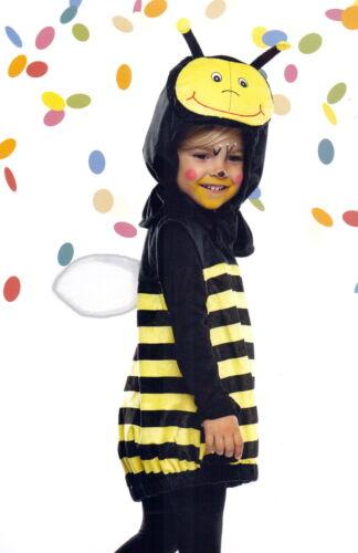 Baby-Kostüm Biene Bienchen Gr 116-128 Plüsch super weich gelb//schwarz NEU