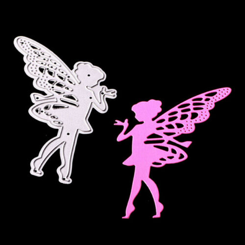 Metal Fairy Cutting Dies Stencil Scrapbook Paper Cards Craft Embossing Chic SW