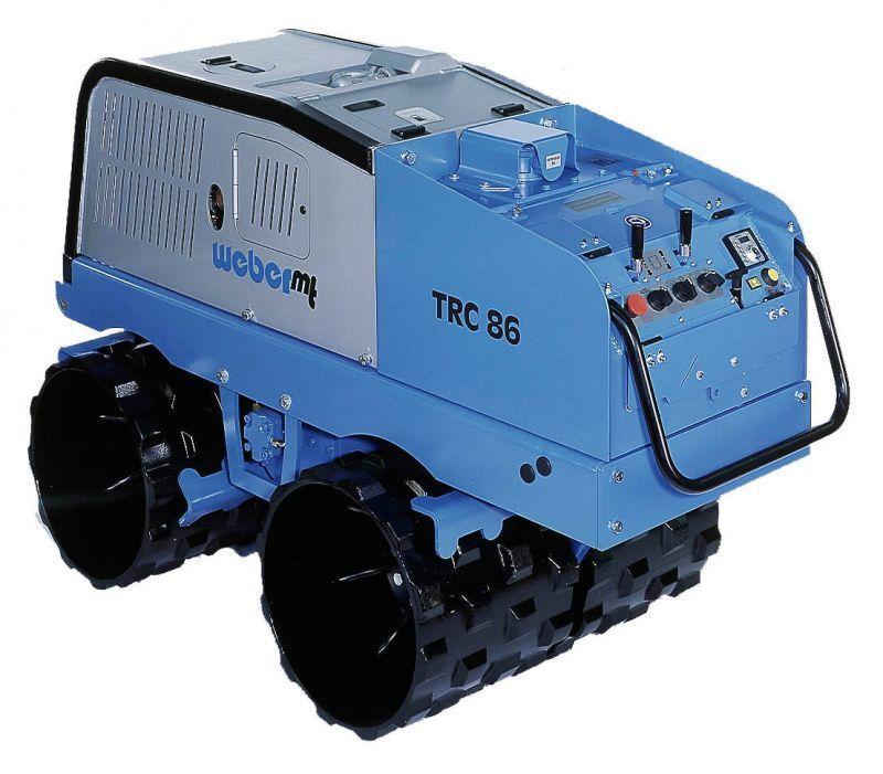 Weber MT Grabenwalze TRC 66 mit 1350kg 75KN : Grabenwalzen TRC 66 ohne Zubehör
