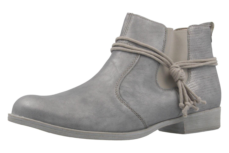 Remonte Stiefel Grau in Übergrößen große Damenschuhe Grau Stiefel XXL aa3511