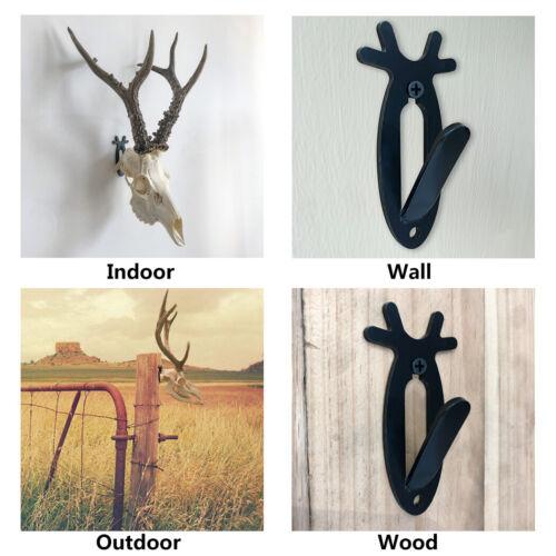 Details about  /Antler Style Deer Hook Hooker European Mount Skull Hanger Antelope Holder USA