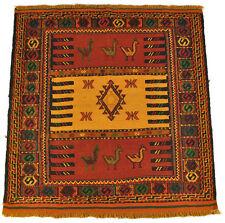 Kelim Sofreh Qouchan 99 x 102 cm  Nomaden Teppich Wolle