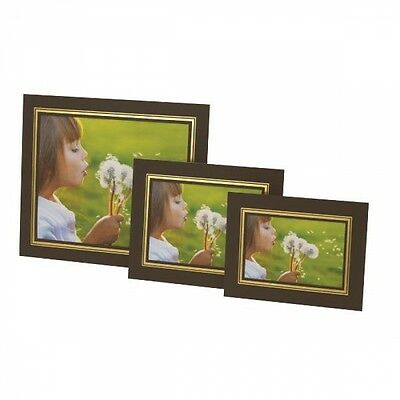 Photo-Mounts-KENRO-STRUT-PACKS-Cardboard-Picture-View-Holders-BROWN-amp-GOLD