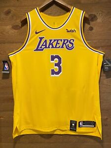 Details about Anthony Davis Authentic Nike Lakers Icon Edition Jersey NWT. With