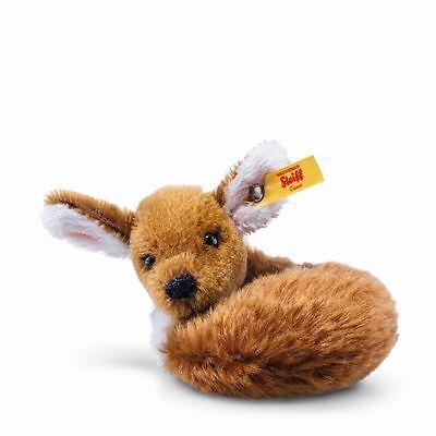 Steiff Ricky Mini Fawn Deer EAN 033063 Mohair Stuffed Animal Toy Gift New