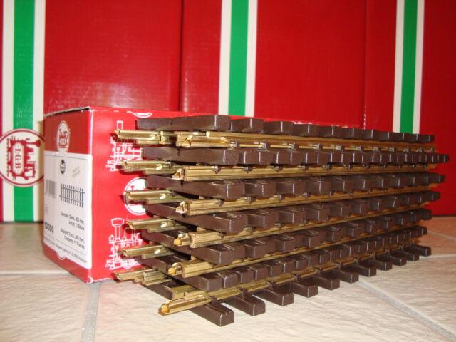 Lgb 10610 Bronze 4 Metros Straight Track caso 2-Pack 12 Peças Novo Em Caixas De Natal!