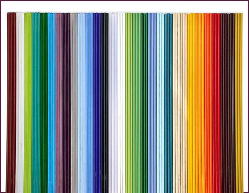 "90 Glasstäbe zum Perlenmachen 30 Farben-Set /""Beginner/"""