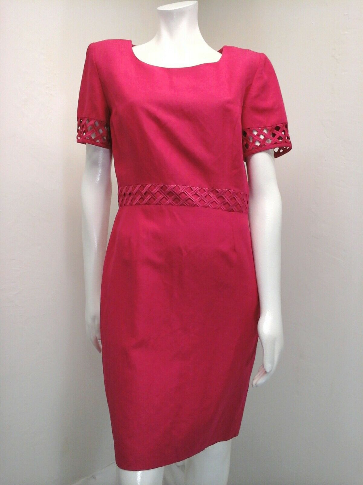 Casual Corner Women's Rose Pink Dress Size 8