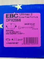R55 1.6 TD 2007 EBC ULTIMAX FRONT PADS DPX2056 FOR MINI MINI CLUBMAN