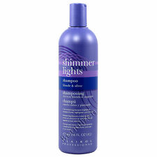 CLAIROL SHIMMER LIGHTS Shampoo blonde & silver 16 fl. oz