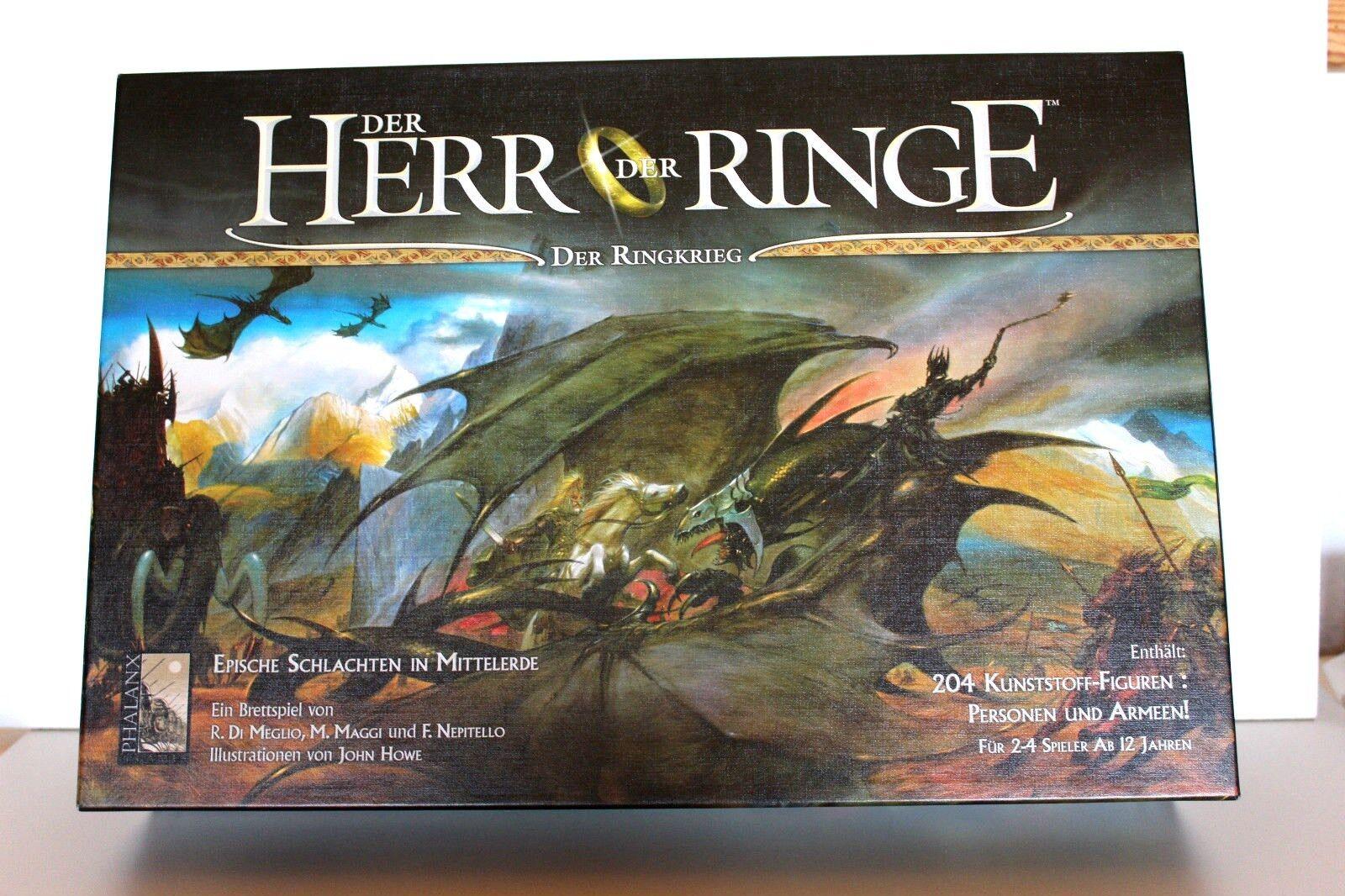 Brettspiel Der Herr der Ringe Ringe Ringe Der Ringkrieg Phalanx von 2004 ff4e2e