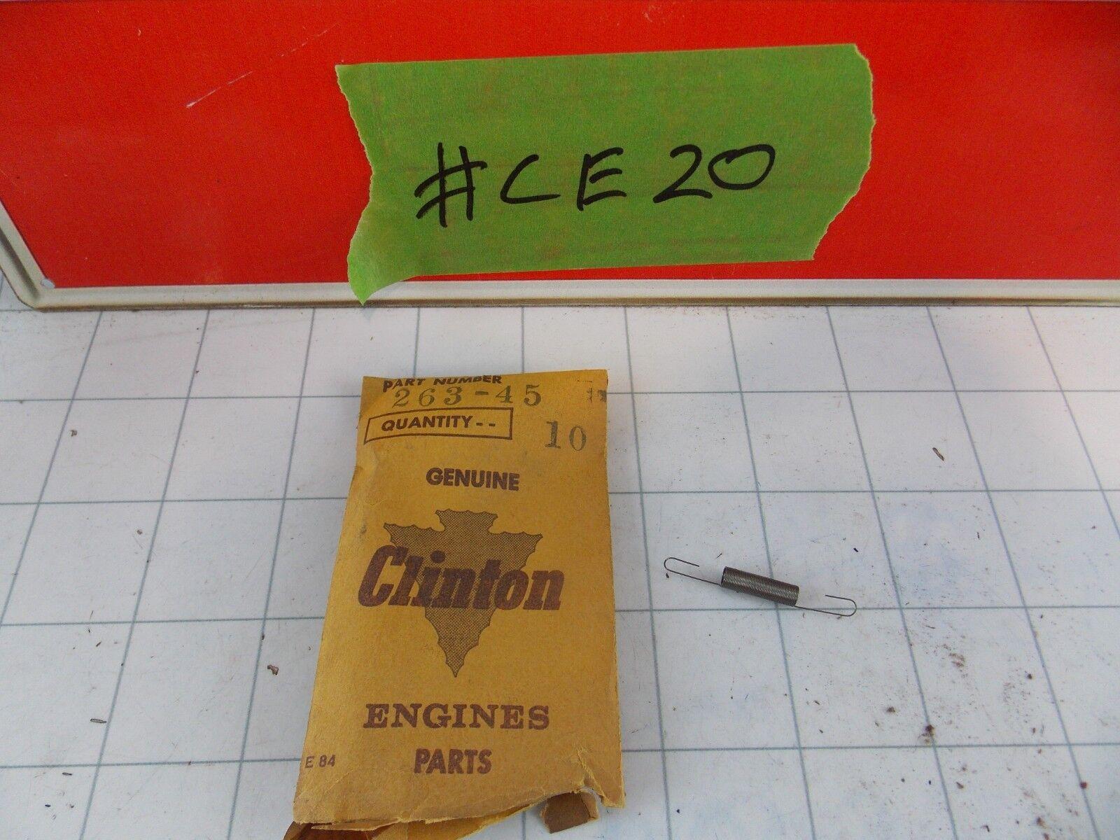 NOS clinton 263-92 valve spring 3068 OEM,vintage clinton motor