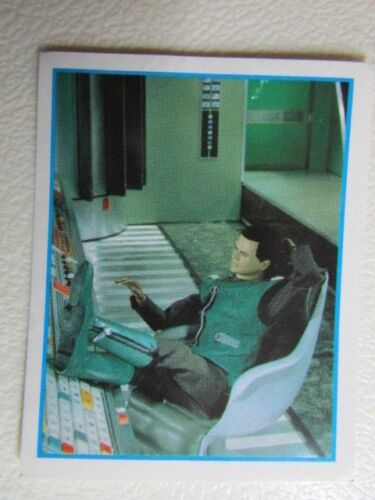Captain Scarlet And The Mysterons Stickers 1993 Merlin Sticker Variants e4