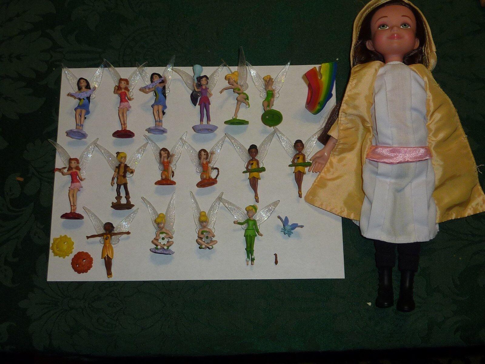 Great Fairy Rescue Fairies Miniature Collectable Figures JAKKS 2010 w/Doll Serie