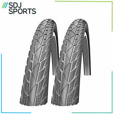 2X Impac By Schwalbe Streetpac 26 X 1.75 Slick Mountain Bike Cycle Tyres 1 Pair