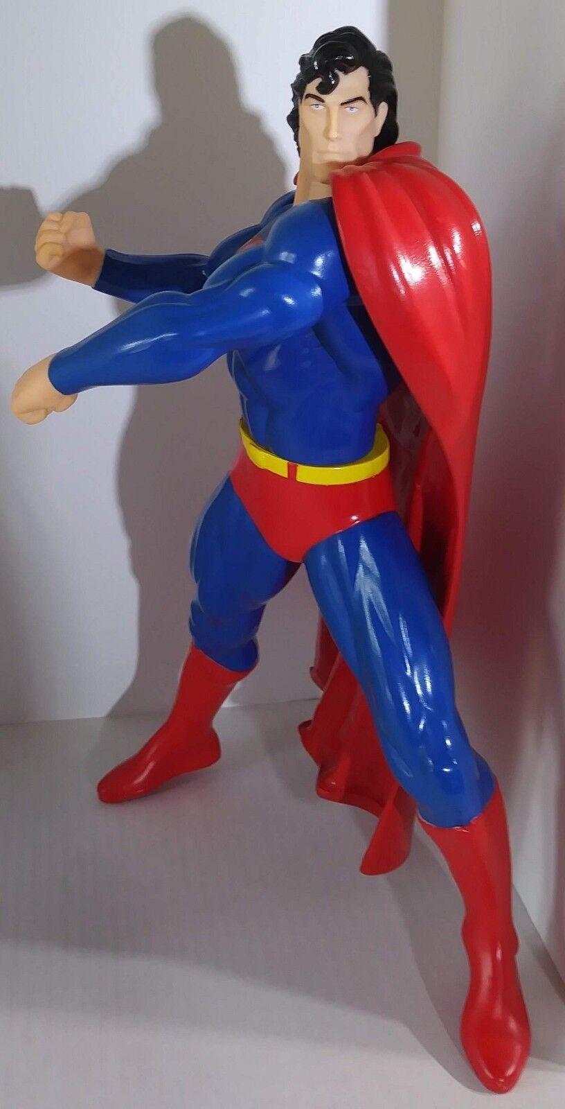 Jahrgang 1995 dc comics locker superman - figur und lange haare version keine basis