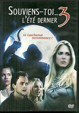 DVD - SOUVIENS TOI L' ETE DERNIER 3 avec BROOKE NEVIN ( HORREUR )