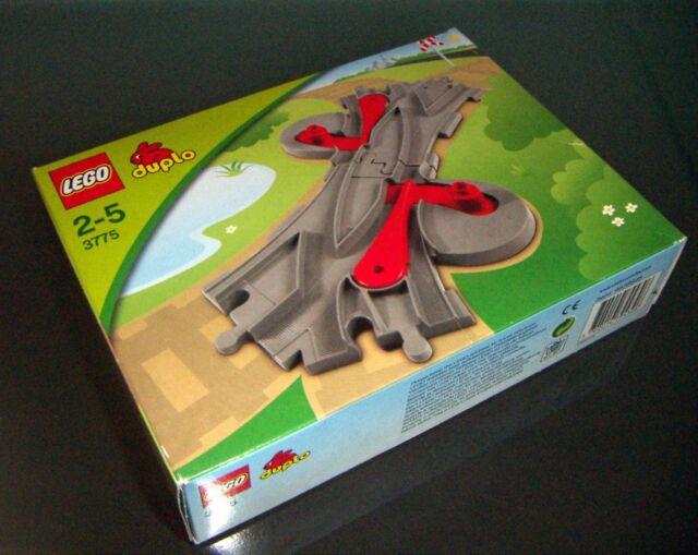 LEGO DUPLO 3775 BINARIO Pistas Nuevo con caja sellado
