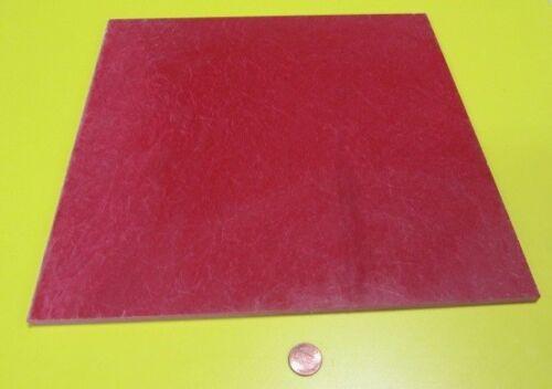"""GPO3 Electrical Red Fiberglass Sheet 1//4/"""" Thick x 12.0/"""" Wide x 12.0/"""" Long"""