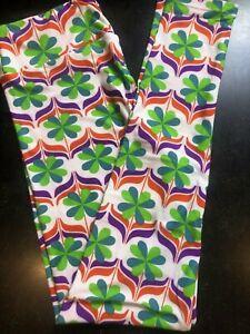Patty/'s Day Brand New Sealed Saint Patrick RARE LulaRoe Leggings TC or OS St