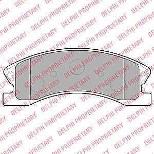 GENUINE BRAND NEW 5 YEAR WARRANTY Delphi Front Brake Pad Set LP1906