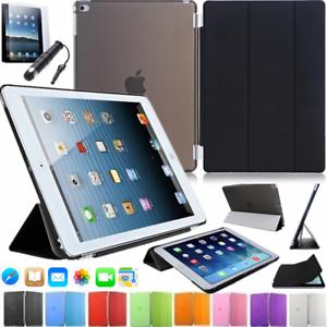 iPad-Mini-1-2-3-Schutz-Huelle-PU-Leder-Tasche-7-9-034-Smart-Cover-Case-Etui-Folie