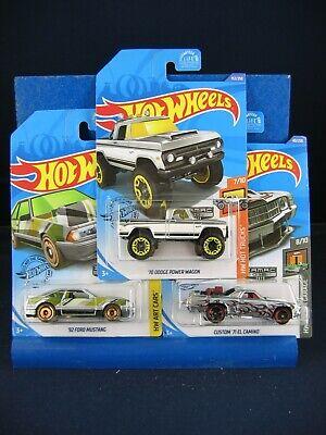 2020 HOT WHEELS ZAMAC 92 Mustang 70 Dodge Wagon 71 El Camino Lot of 3