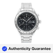 Omega Speedmaster Black Index Dial Chrono Steel Automatic Mens Watch 3513.50.00