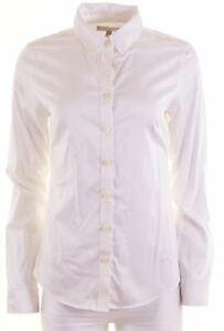 BANANA-REPUBLIC-Chemise-femme-us-10-large-en-coton-blanc-EZ07
