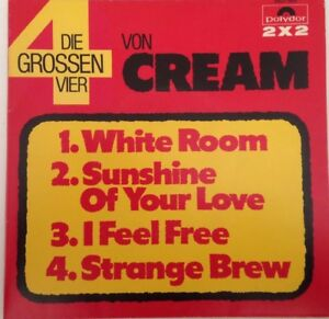 THE-CREAM-1972-7-034-Ungespielt-Kulthits-auf-Doppelsingle-Polydor-2607002