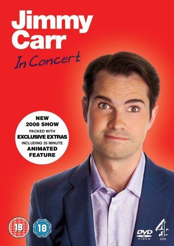 1 of 1 - Jimmy Carr In Concert [Live] [DVD] By Jimmy Carr,Graham Barker,Damon Beesley,.