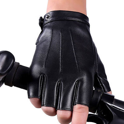 Men/'s Genuine Leather Gloves Waterproof Motorcycle Cycling Outdoor Driving