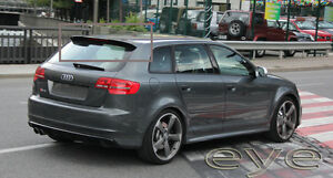 audi a3 8p sportback 5d 5 doors 03 12 rs3 look rear. Black Bedroom Furniture Sets. Home Design Ideas