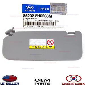New Genuine Inside Sun Visor Right Oem 852022H0208M For Hyundai Elantra 07~10