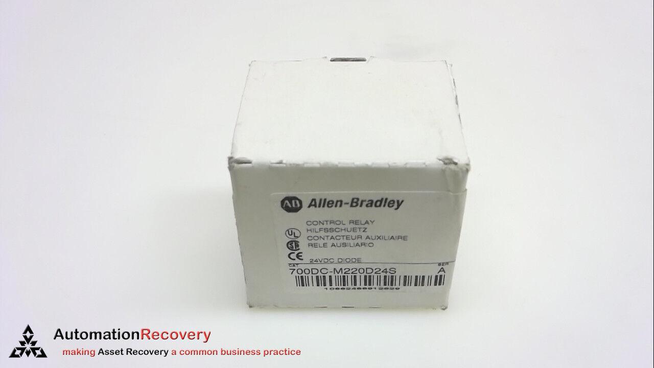 Allen Bradley 700DC-M220D24S, Serie A, Controll Relé, 4 polos, polos, polos, 24 V, 242038, N 8d9015