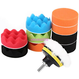 12x-3-Inch-Sponge-Buffing-Polishing-Pad-Kit-for-Car-Polisher-with-Drill-Adapter