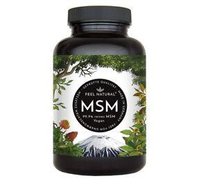MSM-Kapseln-365-vegane-6-Monate-1600mg-Methylsulfonylmethan-Pulver-je-Tag