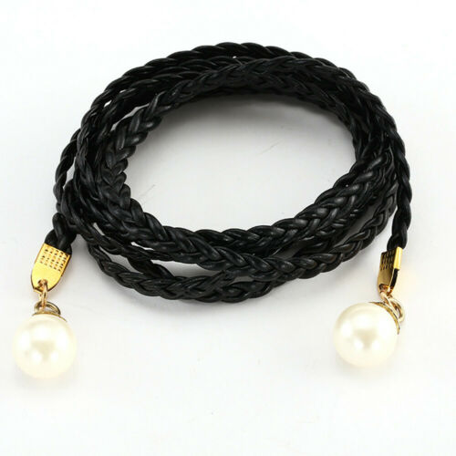 New Women Fashion Vintage Leather Belt Accessories Alloy Casual Dress Strap BELT