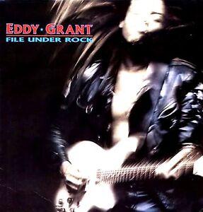 LP - Eddy Grant - File Under Rock (Reggae) SPANISH EDIT.1988, NEW LISTEN / NUEVO